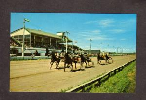 PEI Summerside Horse Racing Racetrack Prince Edward Island Carte Postale Canada
