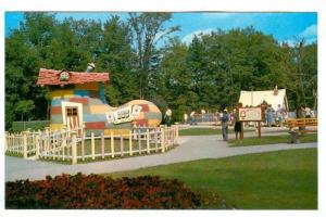 The Old Woman Who Lived In A Shoe, Storybook Gardens, Springbank Park, Lond...