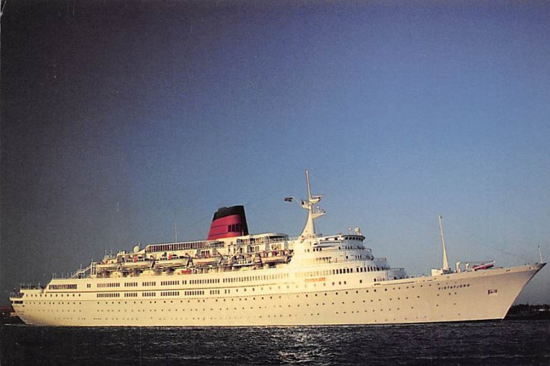 Vistafjord Cunard Line Ship Unused