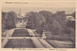 Royal Park At Laeken, Brussels, Belgium, 1910-1920s