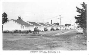 Hubbards Nova Scotia Canada Andrews' Cottages Real Photo Antique Postcard J80399