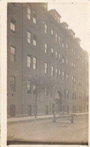 G79/ Cambridge? Massachusetts RPPC Postcard c1910 Factory? Building 8