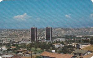 Mexico Tijuana Panoramic View With Agua Caliente Towers