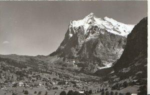 Switzerland Postcard - Grindelwald Mit Wetterhorn - Ref TZ7634