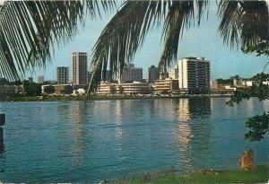 Postcard Cote d'Ivoire Abidjan