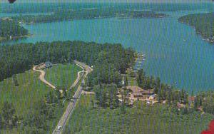 Indiana Angola Aerial VIew Of Lake James