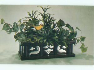 Pre-1980 This Is A Postcard ALUM ALLURE PLANTER BY NATIONAL HANDCRAFT AC7288