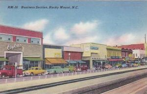 Business Section, Rocky Mountain, North Carolina, 30-40s