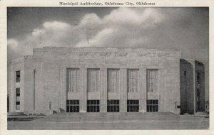 OKLAHOMA CITY, Oklahoma, 1946; Municipal Auditorium