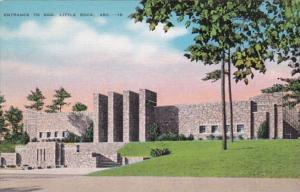 Arkansas Little Rock Entrance To Zoo