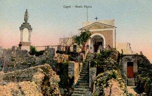 Italy - Capri. Mount Tiberio