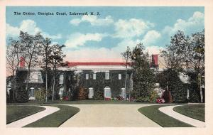 The Casino, Georgian Court, Lakewood, New Jersey, Early Postcard, Unused