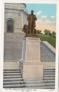 Ohio Canton William McKinley Statue Curteich