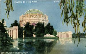 CA - San Francisco. 1915 Panama-Pacific Int'l Exposition. Place of Fine Arts