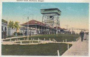 PORTLAND, Oregon, 1910-20s ; Council Crest