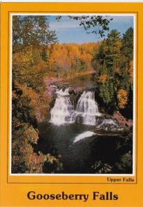 Minnesota Lake Superior Gooseberry Falls State Park Upper Falls