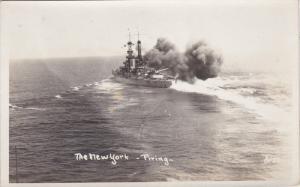 RP: U. S. S. New York firing, 30-50s