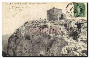 Old Postcard La Sainte Baume Chapel of St Pilon