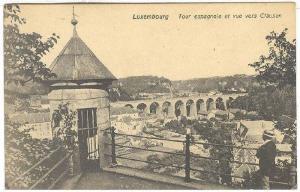 Tour Espagnole Et Vue Vers Clausen, Luxembourg, 1900-1910s