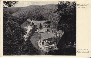 Wendefurt Bodetal - Pension Haus Quensel 1935