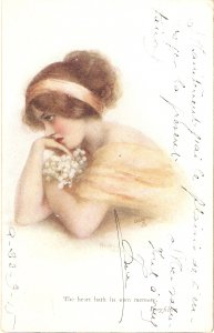 Helena Horwitz. A Dream of Fair Women  Ruck Oikette Conoisseur Ser. PC # 2944