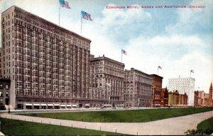 Illinois Chicago Congress Hotel Annex and Auditorium