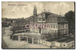Old Postcard Dusseldorf Schloss Jagerhof