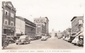RP: SASKATOON , Sask., Canada , 1930-40s ; 21st Street