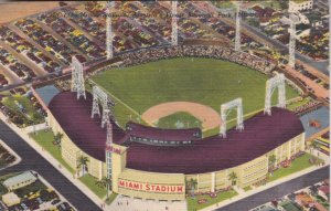 Florida Maimi The Miami Stadium America's Finest Baseball Park Curteich sk2964