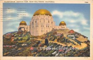 Planetarium, Griffith Park