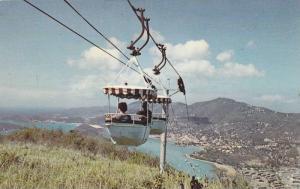 St. Thomas Tramway, Breath-taking view of Charlotte Amalie, U.S. Virgin Islan...