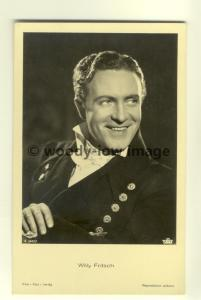 b1189 - German Film Actor , Willy Fritsch - postcard