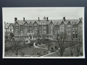 Wales Radnorshire Llandrindod Wells GLEN USK HOTEL Old RP Postcard by R.D.M.Hill