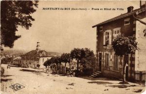 CPA Montigny le Roi - Poste et Hotel de Ville (368554)