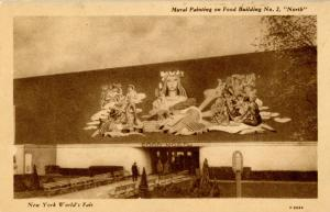 NY - New York World's Fair, 1939. Food Building #2 North, Mural