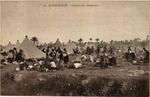 CPA AK Marrakech - Cuisines des Senegalais MAROC (963588)