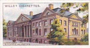 Wills Cigarette Card Overseas Dominions Canada No 40 Government Buildings Hal...