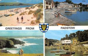Greetings from Padstow, different aspects Lannwedhenek
