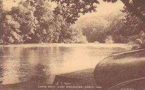 Arkansas Hardy Y W C A Camp Miramichee Canoe Dock Artvue