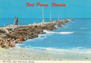 Jetties At Fort Pierce Inlet Fort Pierce Florida