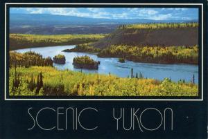 Canada - Yukon Territory. Five Fingers Rapids