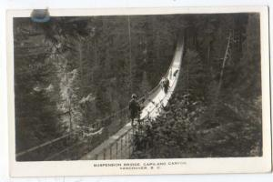 RPPC, Suspension Bridge, Capilano Canyon, Vancouver, BC