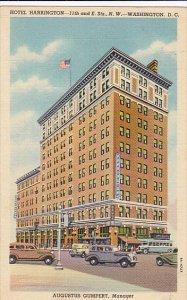 Hotel Harrington Washington D C Curteich