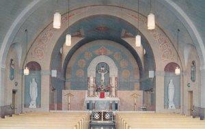OLIVET, Illinois 50-60s Chapel La Salette Seminary
