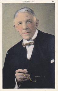 Edward William Bok Of Singing Tower Lake Wales Florida