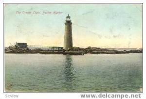 The Groves Lighthouse, Boston Harbor, MA, 1900-1910s