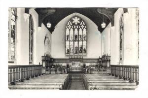 RP, Interior, The Chapel, Manchester College, Oxford, England, UK, PU-1978