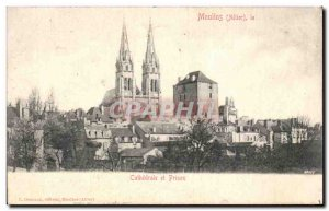 Mills - Cathedrale and Prison - Old Postcard