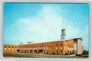 Canton OH- Ohio, Canton Baptist Temple, Religious Building, Chrome Postcard