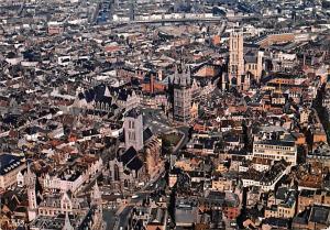 Gand Belgium, Belgique, Belgie, Belgien Panorama` Gand Panorama`